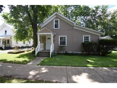 Ypsilanti Single Family Home For Sale: 229 Prospect