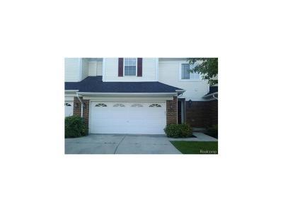 Novi Condo/Townhouse For Sale: 41544 Mitchell Road #166