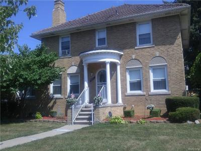 Detroit Single Family Home For Sale: 9681 W Outer
