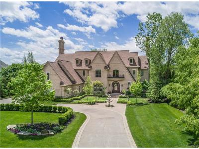 Bloomfield Twp Single Family Home For Sale: 3054 Heron Pointe Drive