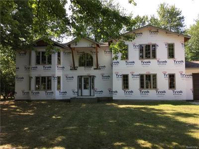Grosse Ile, Grosse Ile Twp, Wyandotte Single Family Home For Sale: 8425 Ferry Road