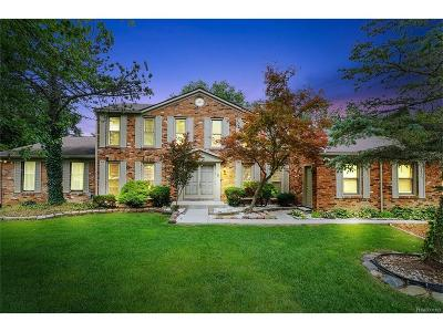 West Bloomfield, West Bloomfield Twp Single Family Home For Sale: 3048 Brewster