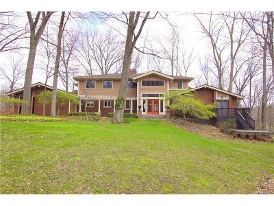 West Bloomfield, West Bloomfield Twp Single Family Home For Sale: 7365 Cold Spring