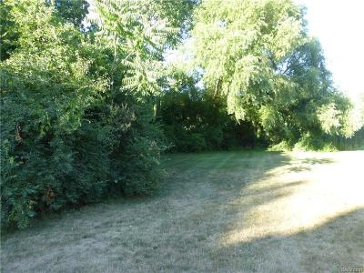 Waterford Twp Residential Lots & Land For Sale: Oregon Boulevard