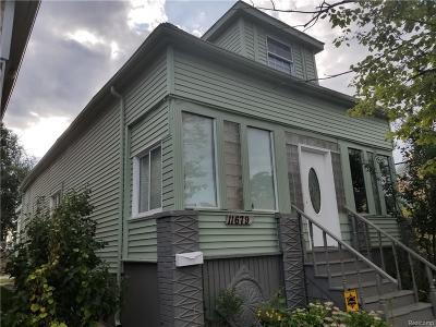 Hamtramck Single Family Home For Sale: 11679 Charest Street