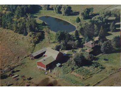 Lapeer County Single Family Home For Sale: 8700 Rich Road