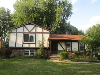 Canton, Canton Twp Single Family Home For Sale: 41552 Heritage Court