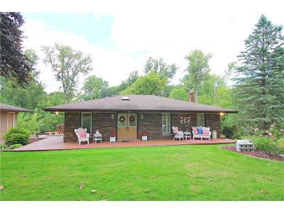 Belleville, Belleville-vanbure, Van Buren, Van Buren Twp Single Family Home For Sale: 41900 Riggs Road
