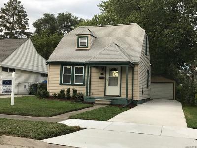 Hazel Park Single Family Home For Sale: 23098 Reynolds Avenue