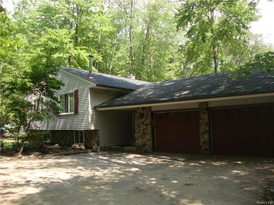 Huron Twp Single Family Home For Sale: 19611 Clark Road