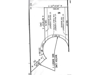 West Bloomfield Twp Residential Lots & Land For Sale: 6131 Maple Forest Court