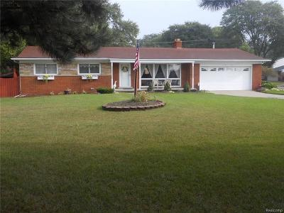 Livonia Single Family Home For Sale: 30118 Schoolcraft Road