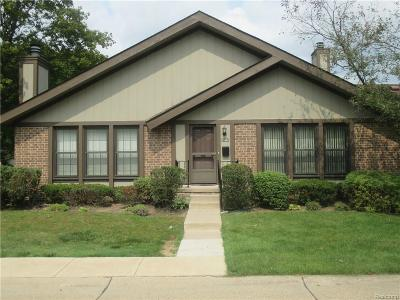 Southfield MI Condo/Townhouse For Sale: $151,900