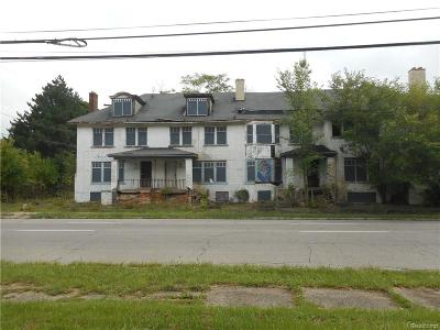 Macomb County, Oakland County, Wayne County Multi Family Home For Sale: 2088 Virginia Park Street