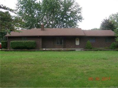 Huron Twp Single Family Home For Sale: 18480 Merriman Road