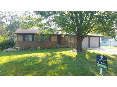 Rochester Hills Single Family Home For Sale: 2905 Woodelm Drive
