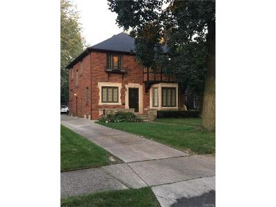 Detroit MI Single Family Home For Sale: $369,900