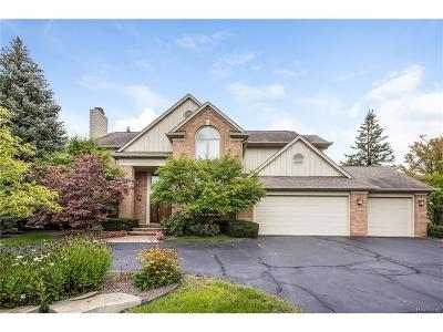 West Bloomfield, West Bloomfield Twp Single Family Home For Sale: 5138 Village Commons Drive
