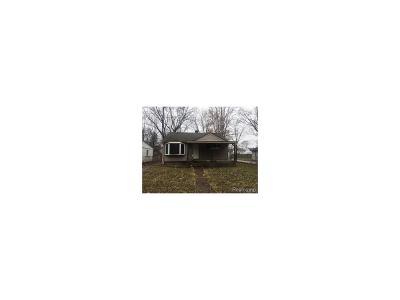 Detroit Single Family Home For Sale: 17203 Salem Street