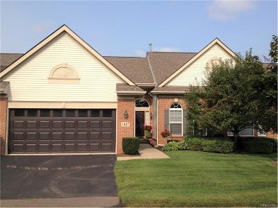 Commerce Twp Condo/Townhouse For Sale: 1447 Covington