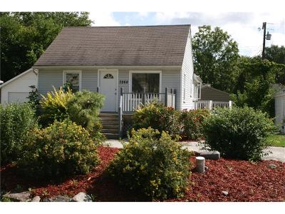 TROY Single Family Home For Sale: 3268 Troy Drive
