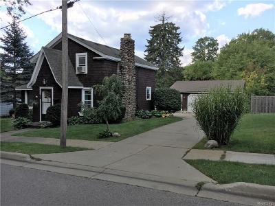 City Of The Vlg Of Clarkston MI Single Family Home For Sale: $319,900