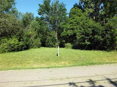 Farmington Hills Residential Lots & Land For Sale: Vacant Cass