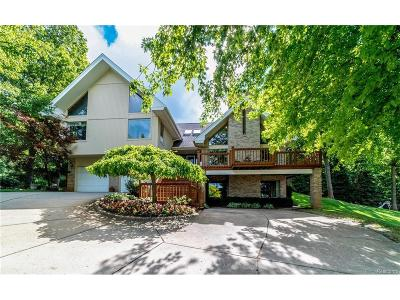 White Lake, White Lake Twp Single Family Home For Sale: 8624 Newport Drive