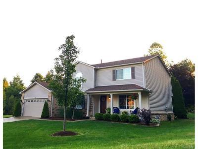 White Lake, White Lake Twp Single Family Home For Sale: 500 Williamsport Court