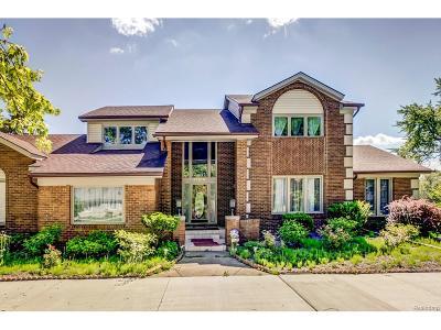 Farmington Hills Single Family Home For Sale: 31210 Sudbury Street