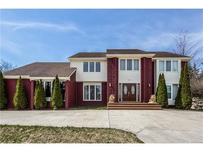 West Bloomfield, West Bloomfield Twp Single Family Home For Sale: 5332 Marlwood Court