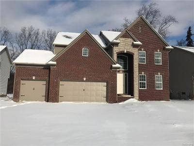 Troy Single Family Home For Sale: 951 Longfellow Drive