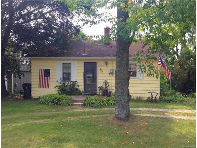 Commerce, Commerce Township, Commerce Twp Single Family Home For Sale: 8161 Eldora Boulevard