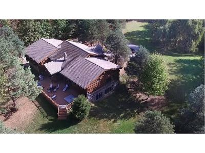 Holly Single Family Home For Sale: 4340 Lahring Road
