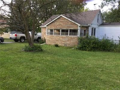 Troy Single Family Home For Sale: 2755 Iowa Drive