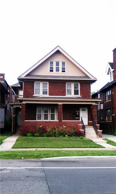 Detroit Multi Family Home For Sale: 1660 W Grand Boulevard