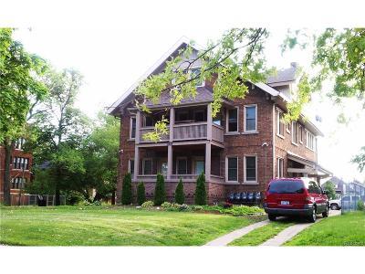 Detroit Multi Family Home For Sale: 1905 W Grand Boulevard