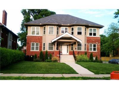 Detroit Multi Family Home For Sale: 1900 W Grand Boulevard