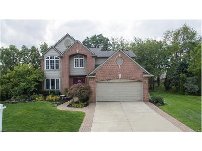 Commerce, Commerce Township, Commerce Twp Single Family Home For Sale: 2421 Baltimore Court