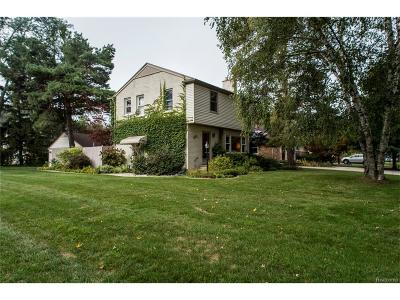 Birmingham Single Family Home For Sale: 2301 W Lincoln Street