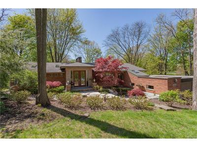 Bloomfield Hills, Bloomfield Twp Single Family Home For Sale: 4348 Karen Lane