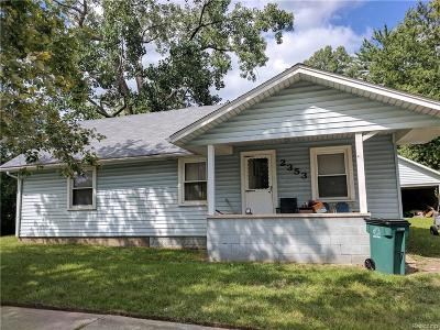 Troy Single Family Home For Sale: 2353 E Maple Road