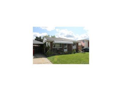 Eastpointe Single Family Home For Sale: 23034 Lambrecht Avenue