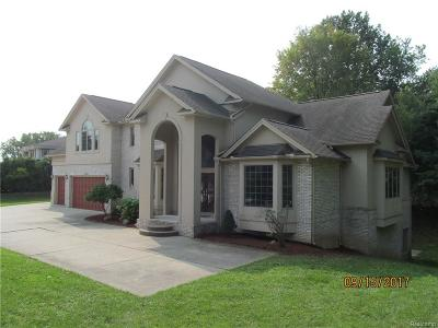 Bloomfield Twp Single Family Home For Sale: 2760 S Telegraph Road