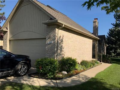 Sterling Heights Condo/Townhouse For Sale: 13289 Lillian Lane
