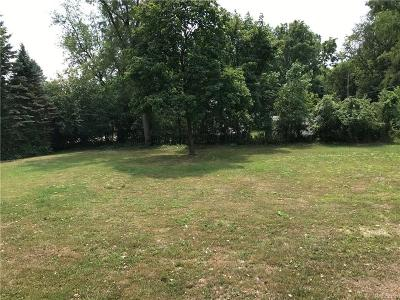 Farmington Hills Residential Lots & Land For Sale: 31705 Junction Street