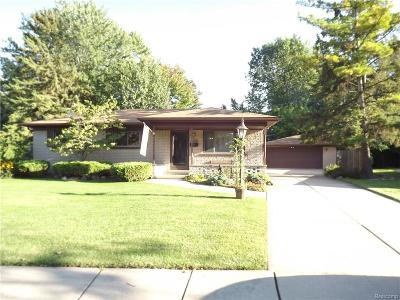 Sterling Heights Single Family Home For Sale: 5008 Sanford Drive