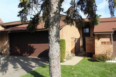 Bloomfield, Bloomfield Hills, Bloomfield Twp, West Bloomfield, West Bloomfield Twp Condo/Townhouse For Sale: 3961 Chablis Street