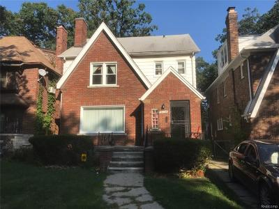 Detroit Single Family Home For Sale: 16248 Northlawn Street