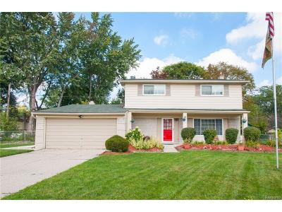 Southfield Single Family Home For Sale: 21760 Concord Court